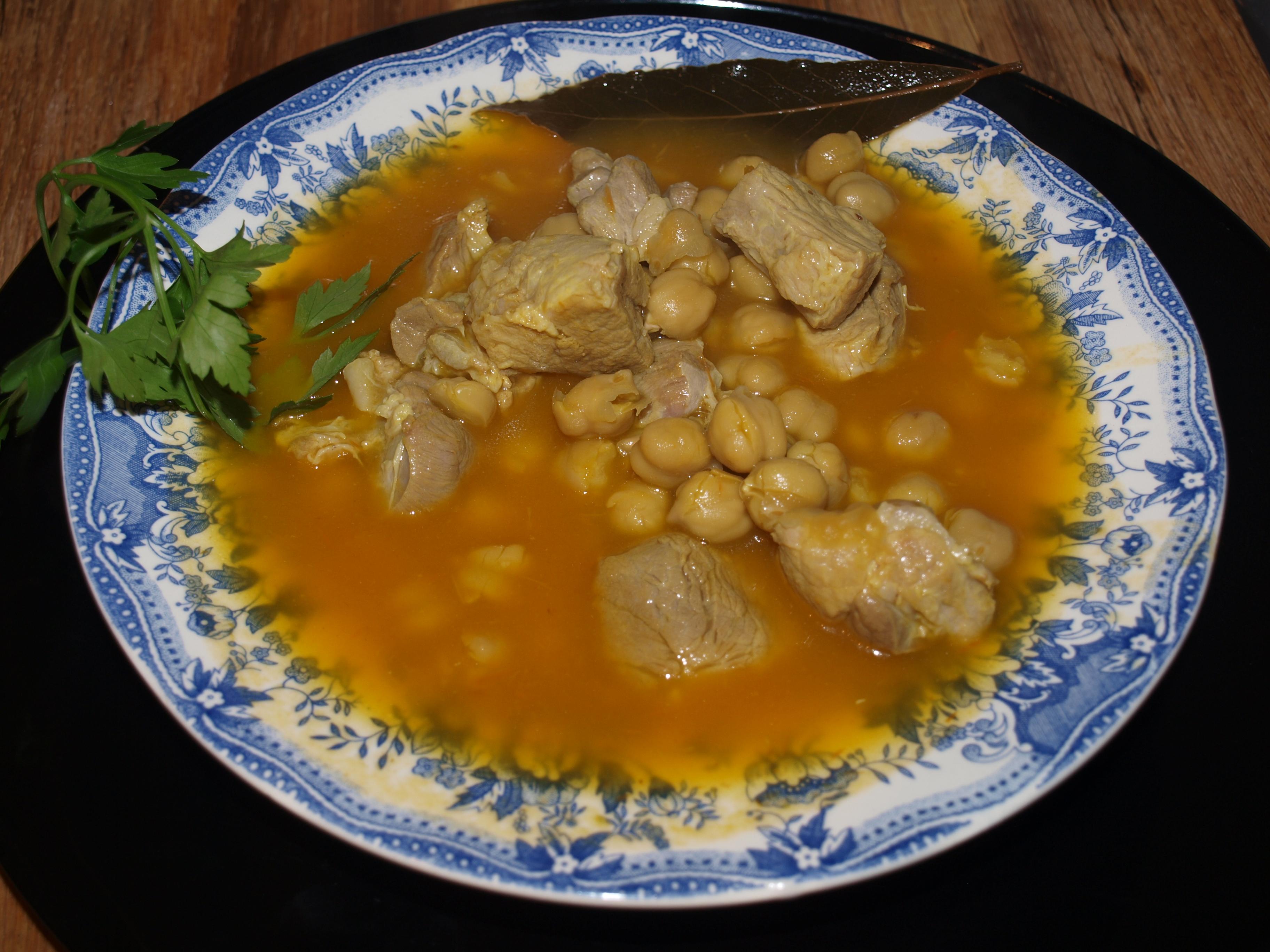 Como Cocinar Garbanzos Secos | Potaje De Garbanzos Con Magro Cocinasss